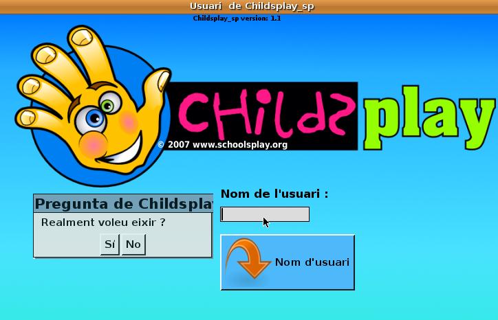 Childsplay en valencià