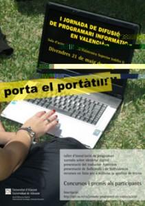 I Jornada de Difusió de Programari Informàtic en Valencià